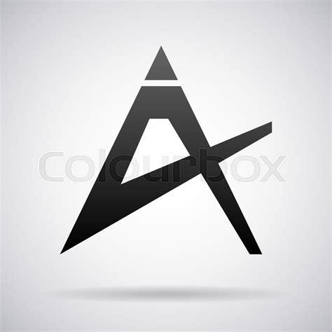 letter template design vector logo for letter a design template vector illustration