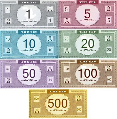 best free printable play money monopoly state of the