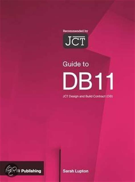 design and build contract jct bol com guide to the jct design and building contract