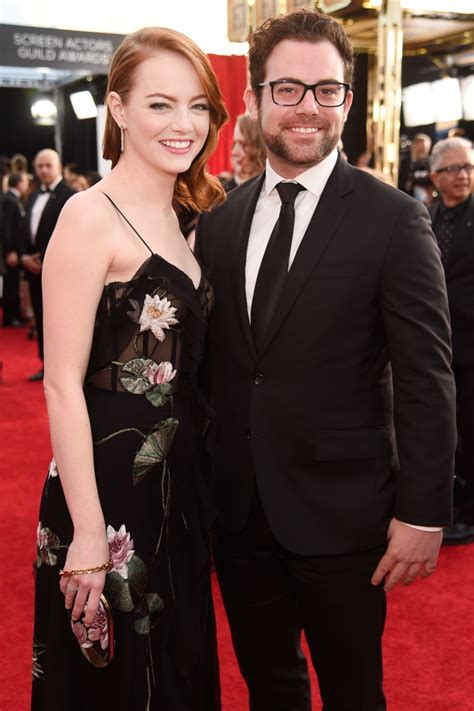 emma stone brother celebs who bring their siblings to awards shows
