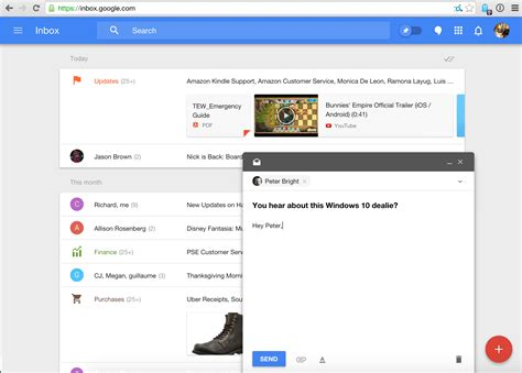 html layout gmail outstanding features of the new gmail inbox inbox by