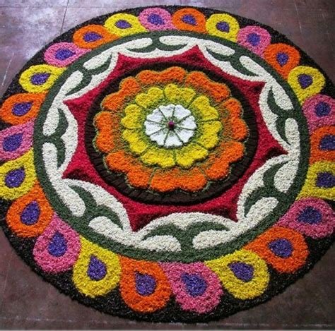 flower pattern rangoli design flower petals rangoli designs images rangoli designs images