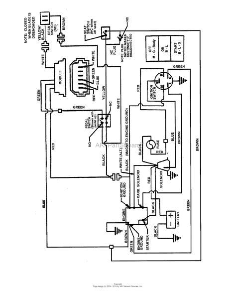 wiring diagram snapper rear engine mower 40 wiring
