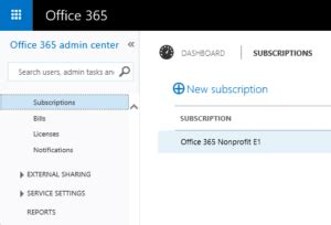 Office 365 Billing Portal Setting Innovative Integration As Your Office 365