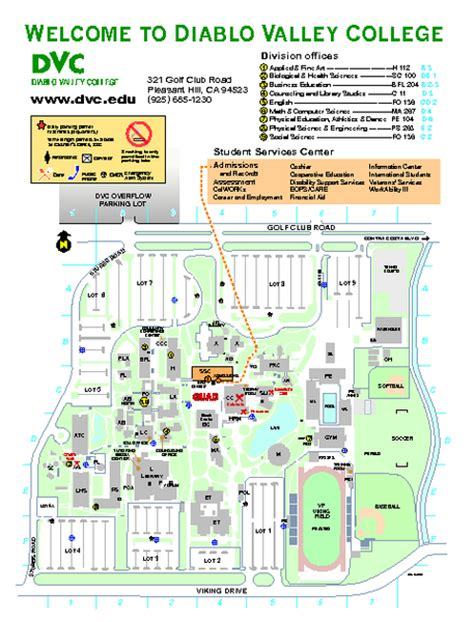 dvc map diablo valley college map diablo valley college mappery