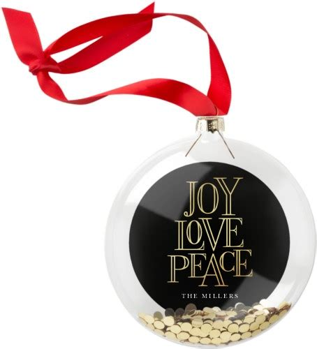 holiday fun metal personalized christmas ornaments