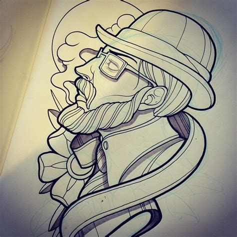 tattoo dave instagram by davetattoos david tevenal illustrations sketch