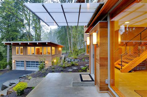 Metal Window Awnings Balcony And Awning Of Modern House Photograph By Will Austin