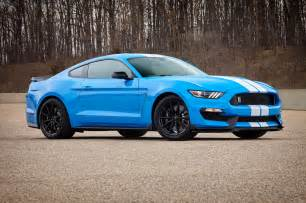 Ford Blue 2017 Ford Shelby Gt350 Gets Standard Track Package New