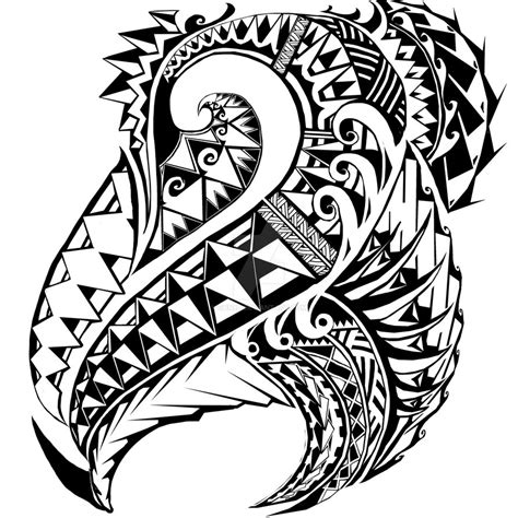 samoan tribal tatt by gun86 on deviantart