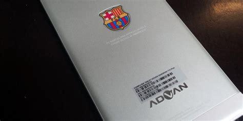 Tablet Advan Fc Barcelona advan barca kolaborasi advan dan barcelona fc kompas