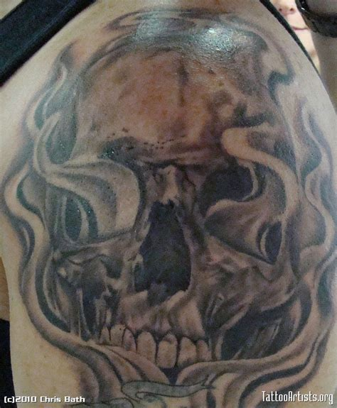 skull and smoke sleeve tattoo designs 40 best sleeve tattoos skulls with smoke images on