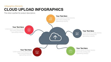 Cloud Upload Infographics Powerpoint And Keynote Template Slidebazaar Powerpoint Infographic Template