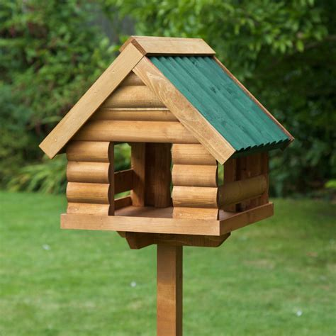 home roost free standing fordwich green garden bird table