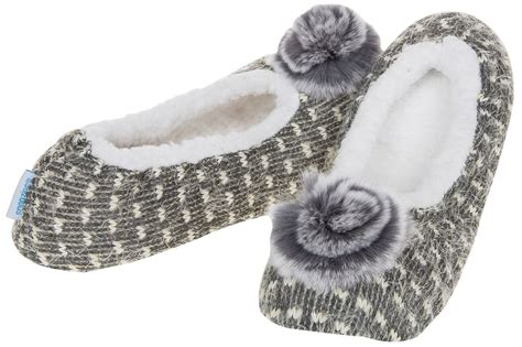 slippers snoozies snoozies slippers soft pointe ballerina uk 3 4 5 6 6 7