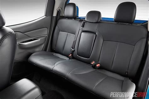 mitsubishi adventure 2017 interior seats 2016 mitsubishi triton review australian launch