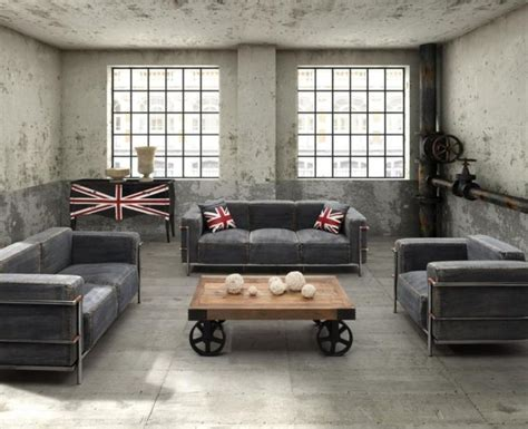 industrial room 15 stunning industrial living room designs rilane