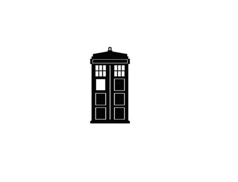 small tardis tattoo tiny tardis temporary doctor who by geekinkdesigns