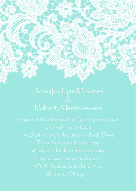 Lace Wedding Invitations At Elegant Wedding Invites     Part 3