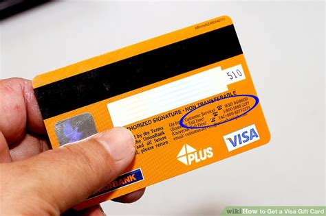 Pnc Visa Gift Cards - how to get a visa gift card 3 steps with pictures wikihow