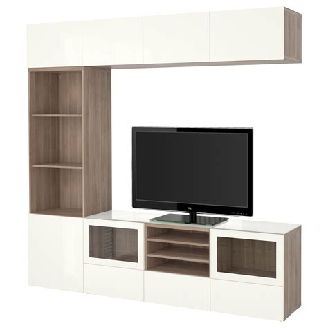 besta tv storage unit yarial com ikea besta wall cabinet installation