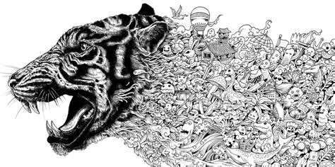 advanced tiger coloring pages 214 ver 1 000 bilder om coloring pages animals p 229 pinterest