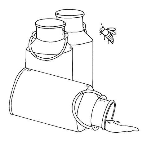 scheune zeichnung kostenlose malvorlage bauernhof milchkannen zum ausmalen