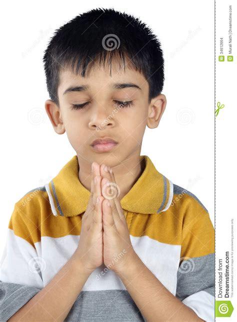 boys photo indian boy praying stock images image 34612664