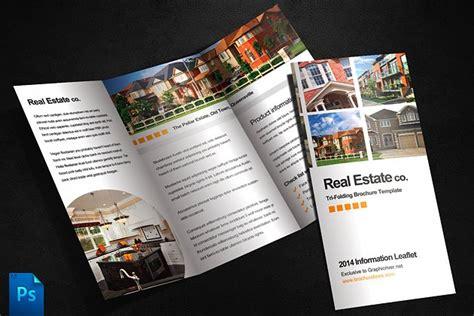 real estate brochure template brochure templates