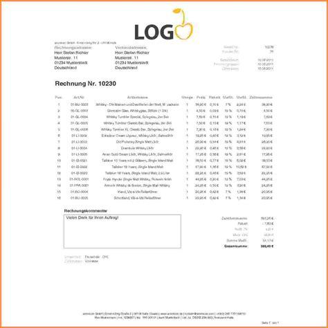 Vorlage R Cksendung Rechnung 9 Rechnung Mit Mehrwertsteuer Vorlage Sponsorshipletterr