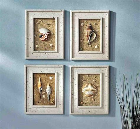 Wall Accessories For Bathroom Seashell Wall Decor Bathroom Decor Ideasdecor Ideas