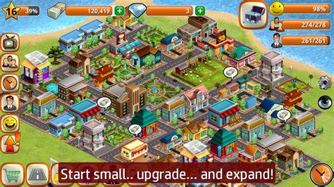 town layout game village city island sim build virtual town game