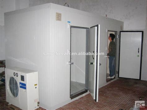 room freezer combined freezer room for furit foods walk in
