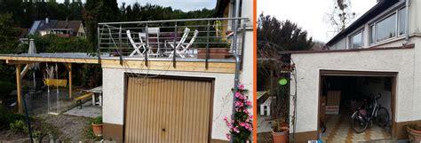 terrasse auf garage terrasse auf alter garage in radolfzell werner ettwein gmbh