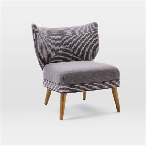 Retro Wing Chair by Retro Wing Chair West Elm