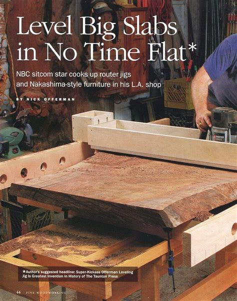 nick offerman out there nick offerman is featured in this fine woodworking
