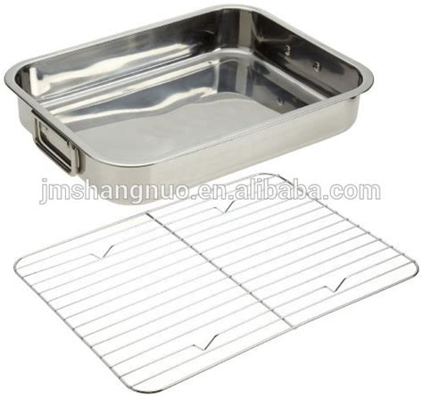 Roasting Pan With Wire Rack by Bbq Baking Pan With Wire Rack Buy Baking Pan Roasting