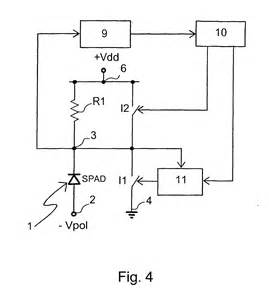 single photon avalanche diode an integrated active quenching circuit for single photon avalanche diodes 28 images fig 12