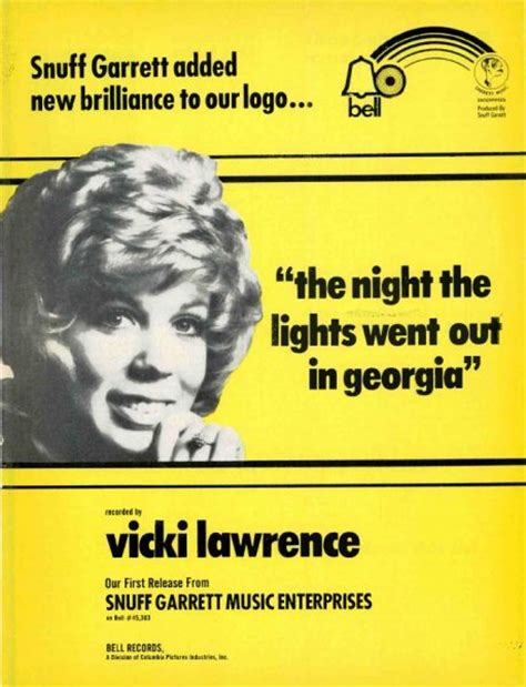 The The Lights Went Out In by Vintage Ads Vicki The The Lights Went
