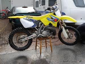 2006 Suzuki Rm250 Bikepics 2006 Suzuki Rm 250