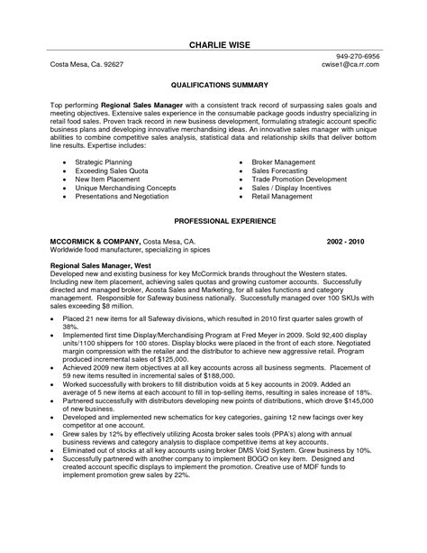 professional sales resume examples examples of resumes