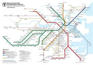 Map Of Boston T by Green Line Map Chicago Viewing Gallery