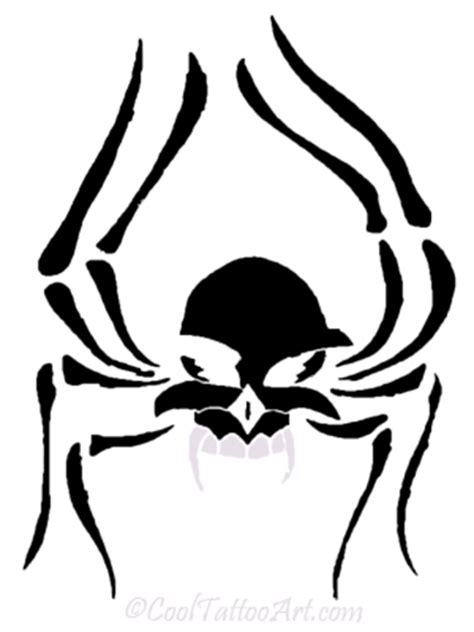 tribal spider tattoo meaning free spider tattoos designs cooltattooarts
