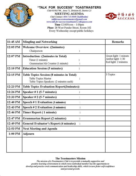 meeting agenda template doc meeting agenda