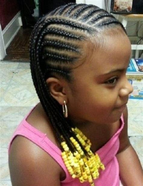 Braids with Beads for Little Girl   New Natural Hairstyles