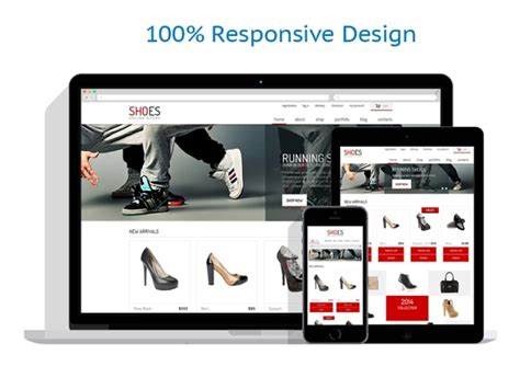 Shoe Store Template