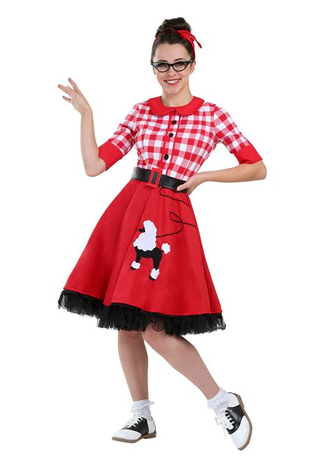50 girl halloween costumes 50s darling costume for women