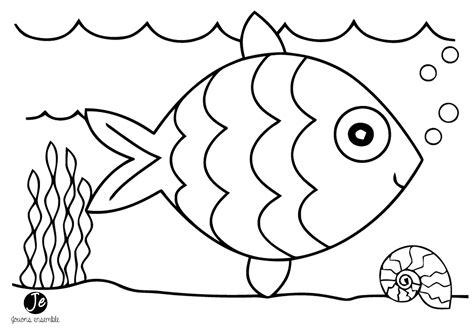 Pointillisme Au Coton Tige Quot La Mer Quot Jouonsensemble Coloriage De Dessin L