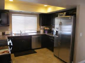 Home Bar Appliances Kitchen Kitchen Color Ideas With Oak Cabinets And Black