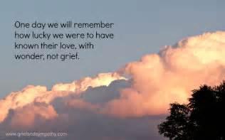 grief and sympathy